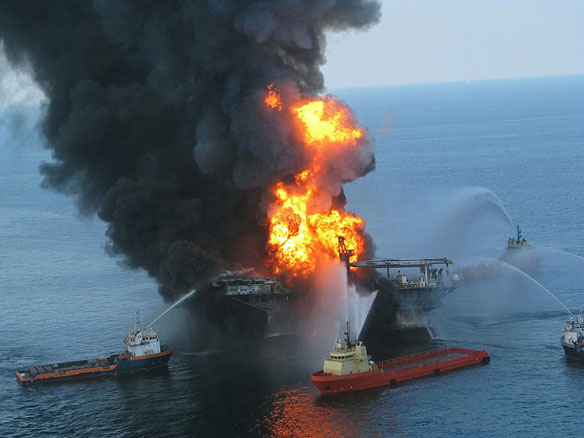 Oil Platform Explodes in Gulf of Mexico; 11 Injured, 2 Missing