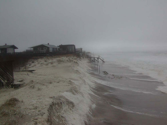 New Storm Could Brewing Could Threaten Sandy-Damaged Beaches