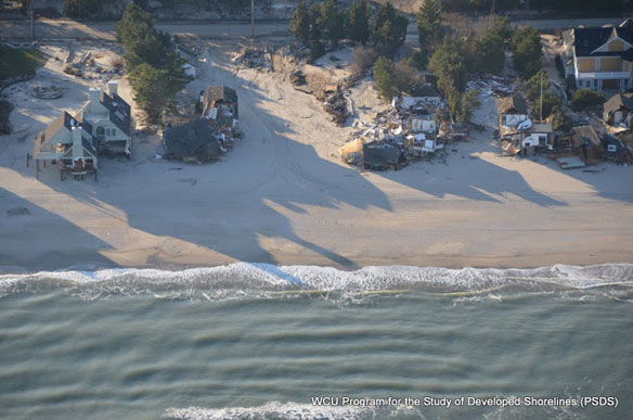 Study: NJ Beaches 30-40 Feet Narrower After Storm