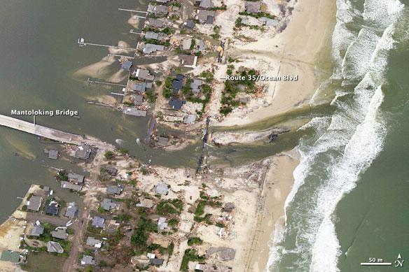 A Changed Coastline in Jersey