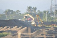 Philippines Black Sand Mining Operations, Gonzaga, Cagayan Province