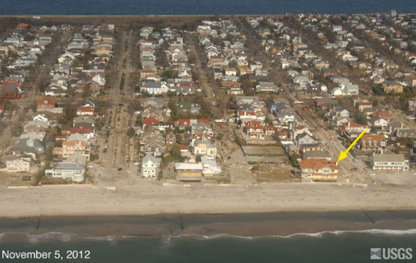North Carolina, Delmarva Coastlines Changed by Hurricane Sandy