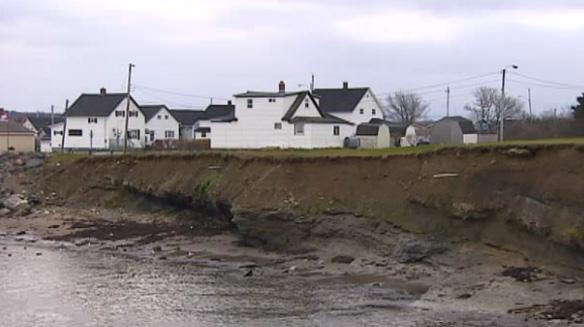 Coastal Erosion Threatens Cape Breton Homes, Nova Scotia