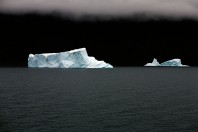 Icebergs Floating By – East Greenland / The Last Iceberg Series III; By Camille Seaman