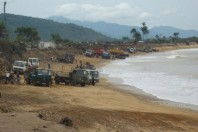 In pictures: Sand mining in Sierra Leone