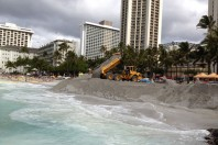 'Sand mattress' technology to combat Mother Nature at Kuhio Beach