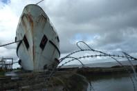 Duke of Lancaster Graffiti Art Ship, In Pictures
