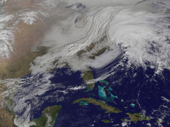 Winter Storm Nemo hit the US east coast
