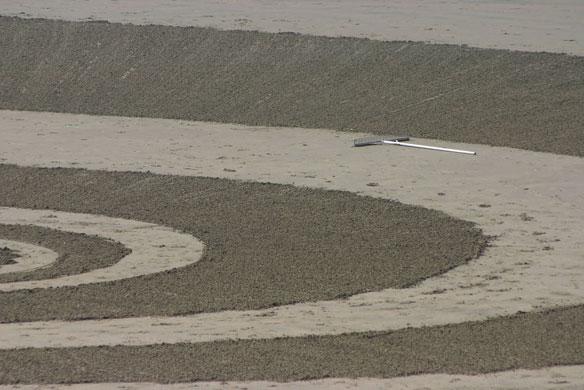 rake-sand