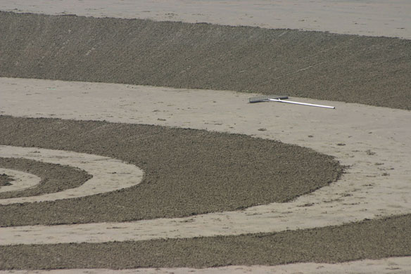 Beach Art In Cornwall: The High Tidemark – Video