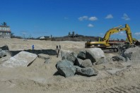 Post Sandy Coastal Engineering Atrocity at Village of Southampton, In Pictures