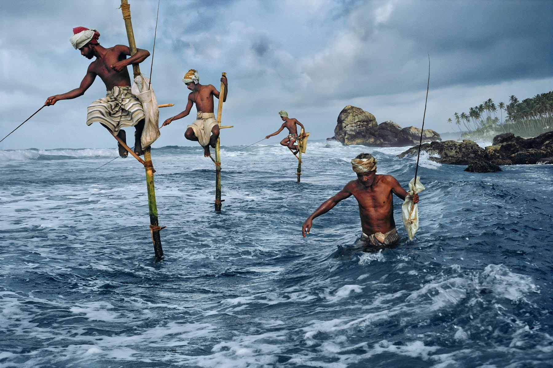 Weligama, Sri Lanka; By Steve McCurry