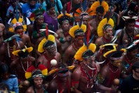 Amazon Tribe Threatens To Declare War Amid Row Over Brazilian Dam Project