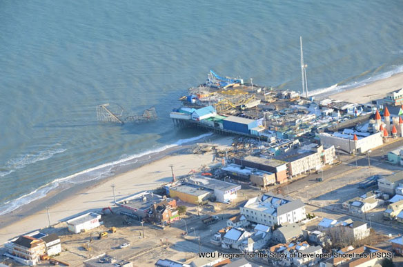 Post Sandy: The Jersey Shore's Susceptibility to Major Storms