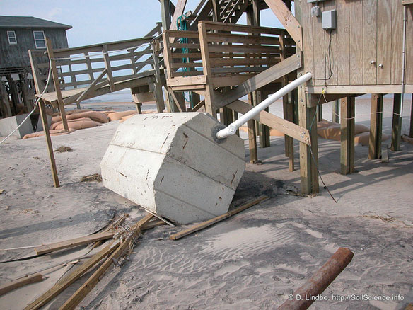 Ruling Favors Rebuilding Septic Systems on Beach