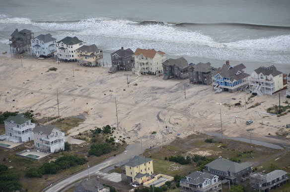 North Carolina didn't like science on sea levels, so passed a law against it