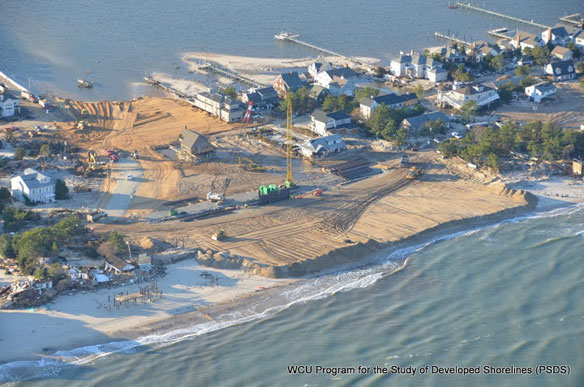 Rebuilding the Coastline, But at What Cost?