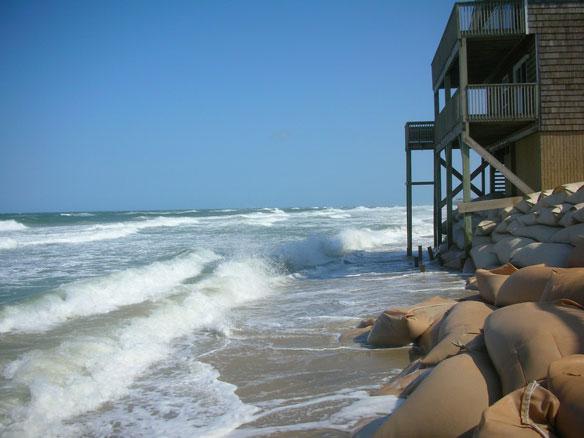 Predicting Hurricane-Induced Coastal Change