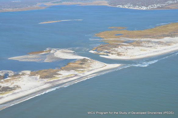 The breach at Fire Island National Seashore, Video