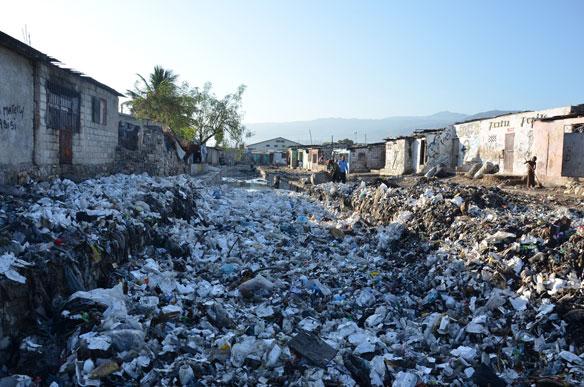 Despite Two Bans, Styrofoam Trash Still Plagues Haiti
