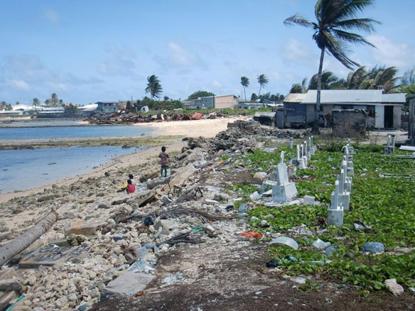 Lives in the balance: climate change and the Marshall Islands