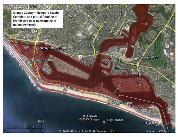 Newport Beach Officials Prepare for Possibility of Big Tsunami That Could Flood Large Swaths of City