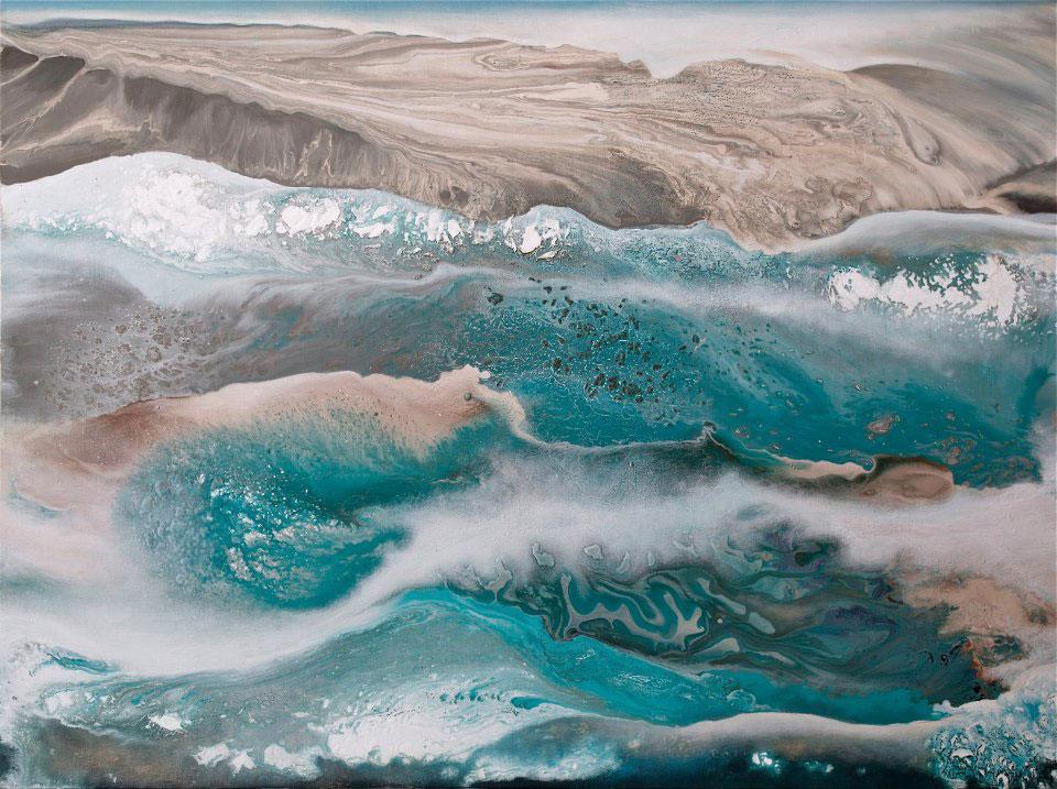 Coastal Bluff; By Joanna Asha Roznowski