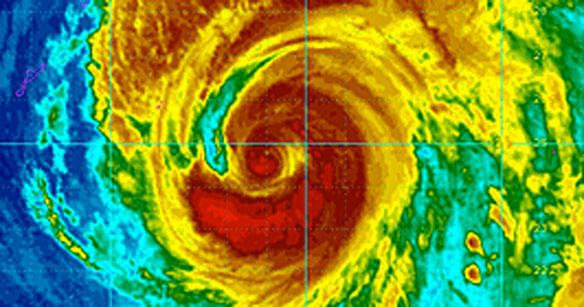 Typhoon Wipha Battering Tokyo, Eastern Japan