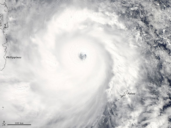 Super Typhoon Haiyan, One Of Strongest Storms Ever, Heads For Philippines