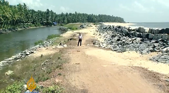 Sand Mining Causes Erosion In Indias Beaches