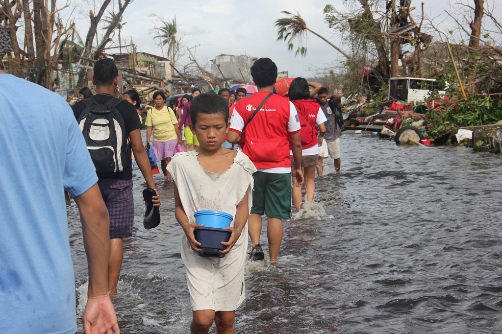 Typhoon Haiyan's Deadly Surge Noted in Warsaw Talks