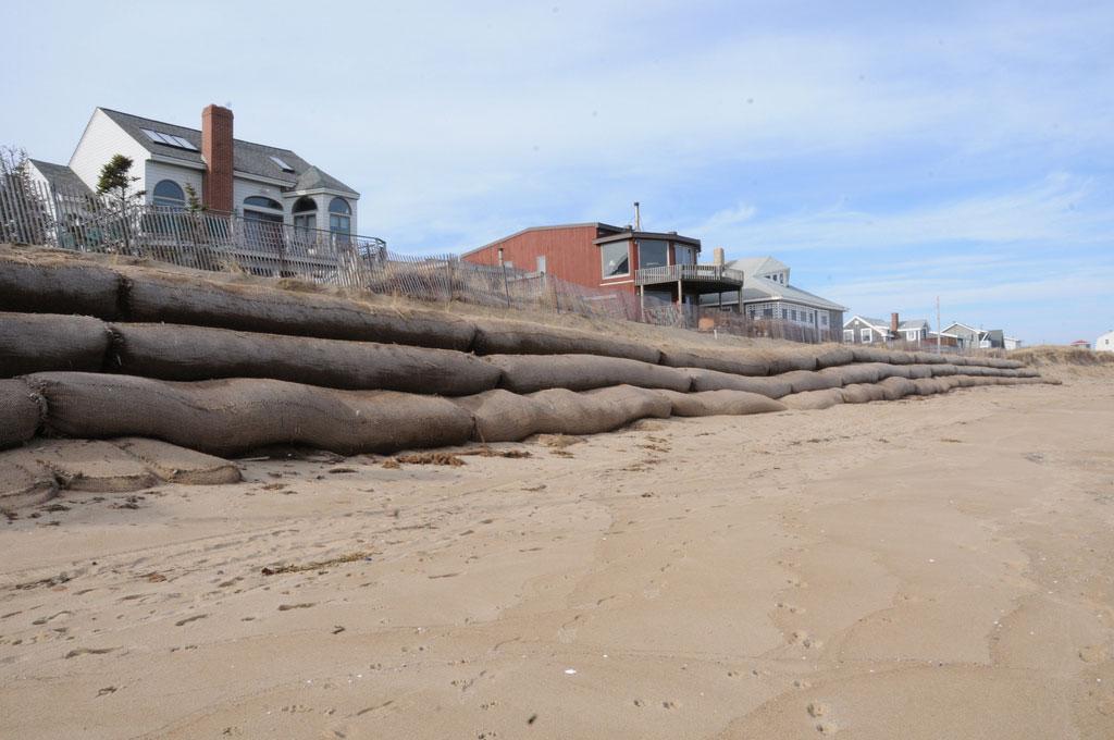 Coastal Erosion Sparks 'Sand Wars' In New England