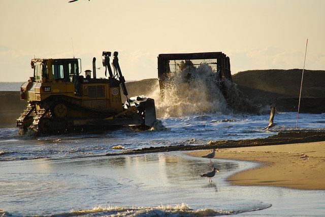 Dredging Plan Ignites New Sand Skirmish