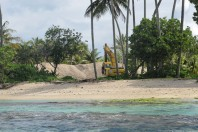 Montserrat residents and former premier outraged at public beach sand mining