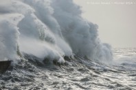 Twin bomb cyclones to merge into one of strongest-ever storms in North Atlantic