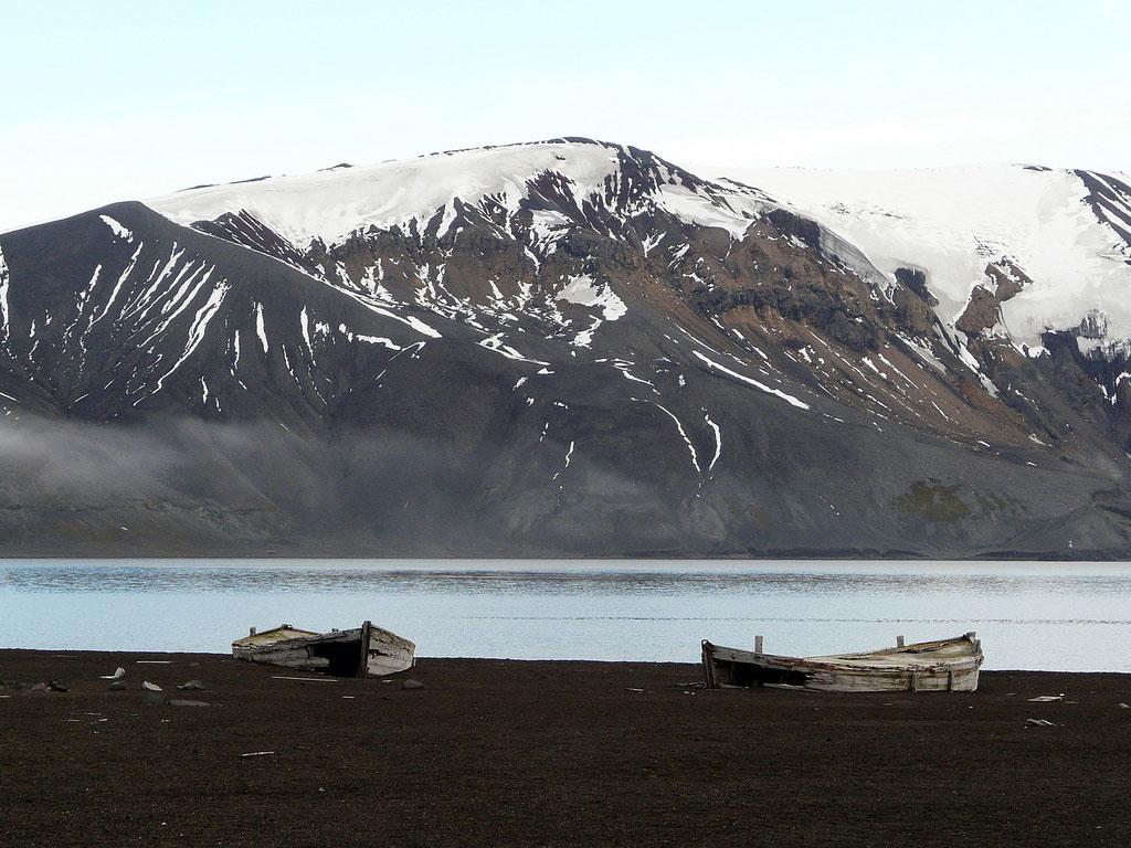 Deception Island, Antarctica; By Benjamin Dumas