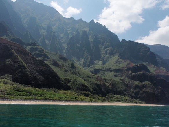 hawaii islands - The Garden Island