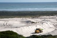 Illegal Sand Mining Stopped, South Africa