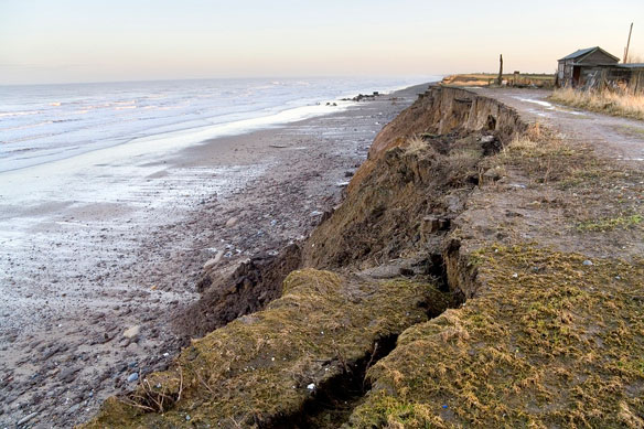 East Riding Coastal Erosion, In Pictures