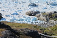 A Tsunami Sculpted Beach, Sermermiut Beach, Jacobshaven Icefjord World Heritage Site, South of Ilulissat, Western Greenland; By Harold R. Wanless And John C. Van Leer
