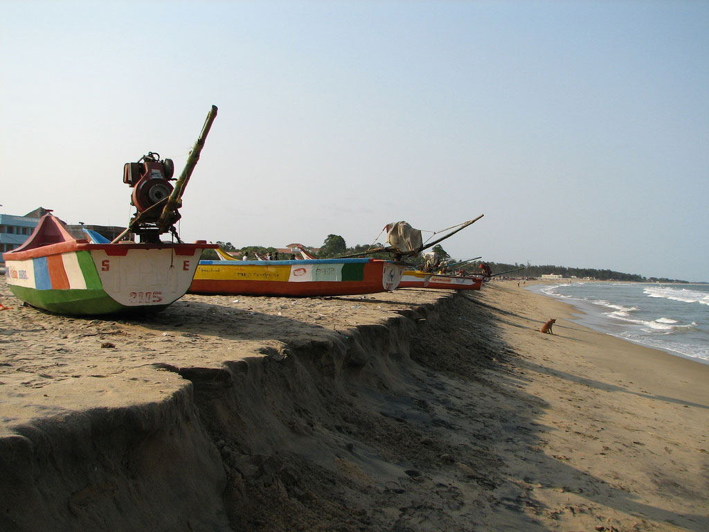 40% Of The Indian Coast Is Subjected To Coastal Erosion