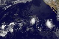 Two Major Storms Headed Toward Hawaii