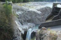 Timelapse Of The Removal Of Glines Canyon Dam on the Elwha River, Video
