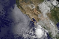 Hurricane Norbert Batters Baja California And Heads North-West
