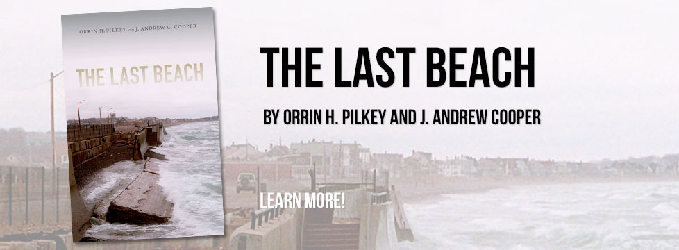 The Last Beach, A book by Orrin H. Pilkey And J. Andrew G. Cooper