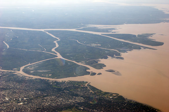 Gated Communities on the Water Aggravate Flooding in Argentina