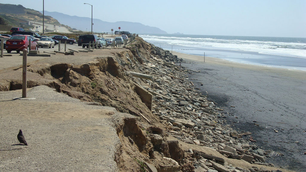 essay on shoreline erosion