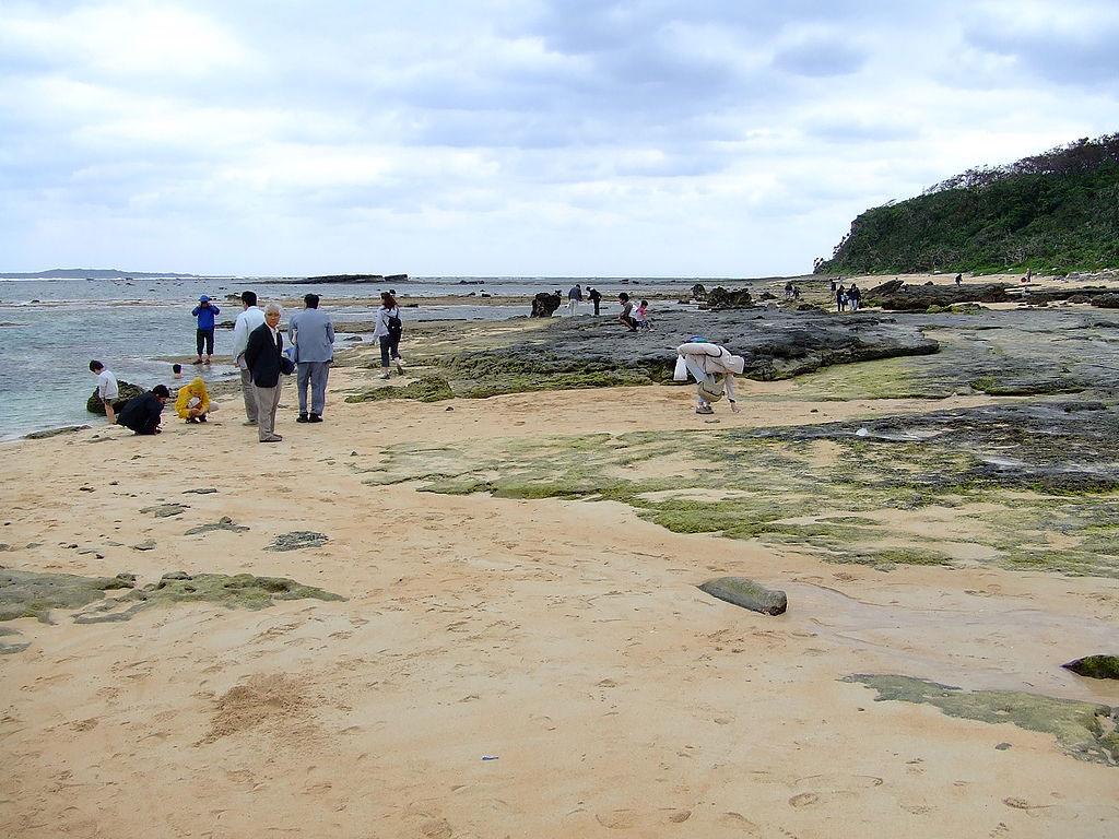 Star Sand Beach In Iriomote Island, Japan
