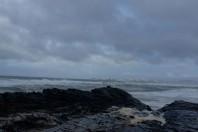 Portsea beach erosion, failed shorline armoring, Australia