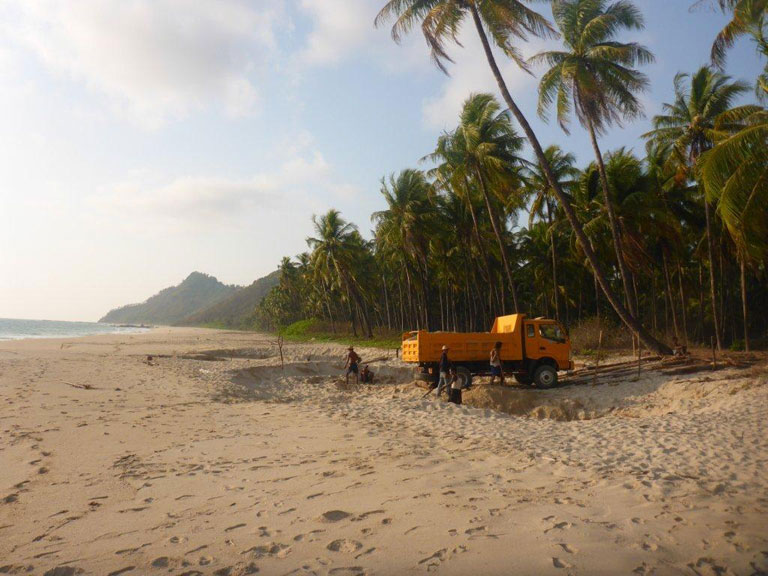 Fears for Future of Ngapali Beach as Authorities Permit Sand Excavation; Myanmar